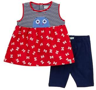 Lilly + Sid Butterfly Tunic & Short Set (Baby Girls)