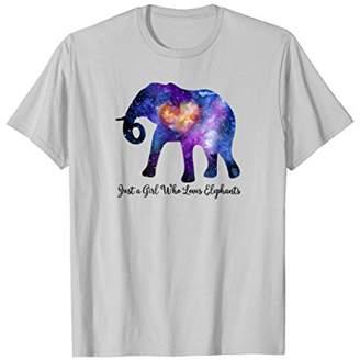 Just a girl who loves Elephants Tee Shirt
