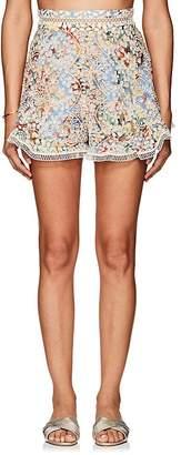Zimmermann Women's Lovelorn Floral Cotton Shorts