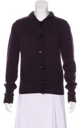 Akris Punto Wool Knit Cardigan