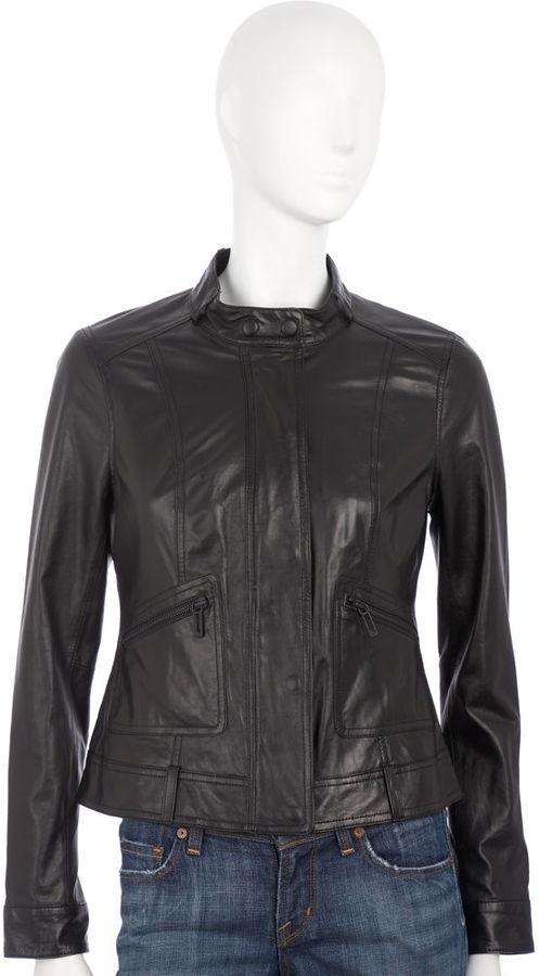 Vince Biker Jacket - Black