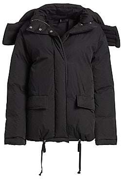 Helmut Lang (ヘルムート ラング) - Helmut Lang Women's Down & Feather Fill Puffer Jacket