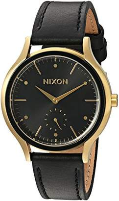 Nixon Women's 'Sala' Quartz Leather Watch