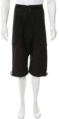 Y-3 x Adidas Flat Front Drop Crotch Shorts w/ Tags