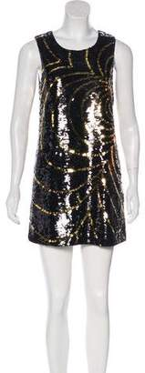 Rachel Zoe Sequined Shift Dress
