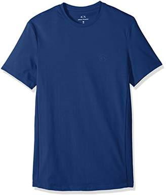 Armani Exchange A|X Men's Slim Solid tee with Logo