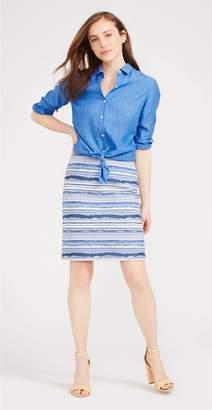 J.Mclaughlin Elm Skirt in Stripe