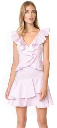 Rebecca Taylor Sleeveless Ruffle Dress $450 thestylecure.com
