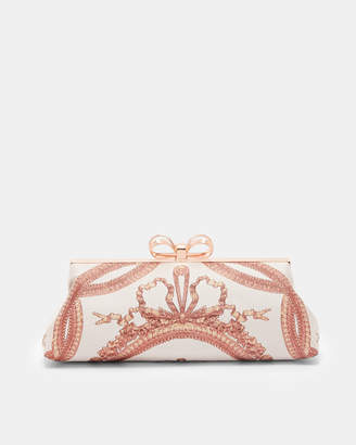 Ted Baker KARLII Versailles clutch bag