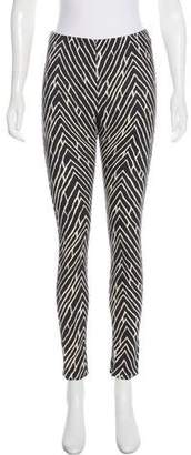 Ungaro Printed Mid-Rise Pants w/ Tags