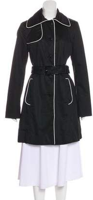Jean Paul Gaultier Long Sleeve Knee-Length Coat