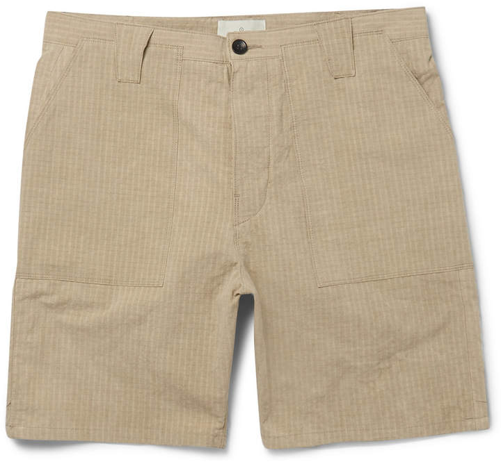 The Lost Explorer Organic Cotton-Ripstop Shorts
