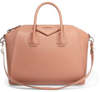 Givenchy - Medium Antigona Bag In Antique-rose Textured-leather - Antique rose $2,435 thestylecure.com