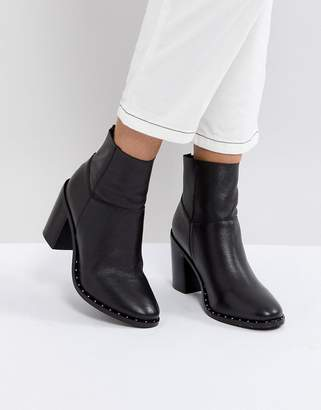 Asos DESIGN ENVY Leather Ankle Boots