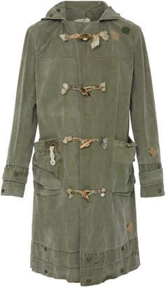 Greg Lauren Army Toggle Coat