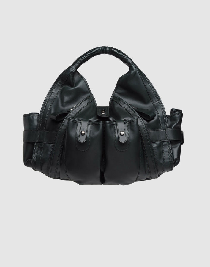 COSTUME NATIONAL Large leather bag