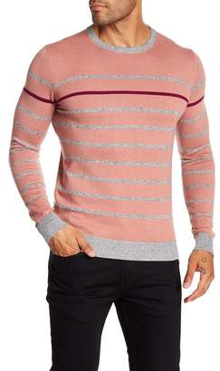 Ted Baker Striped Long Sleeve Pullover