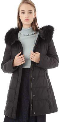 Aylesbury (アリスバーリー) - ◆ファーフード付きダウンコート ブラック
