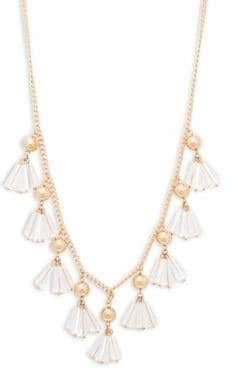 Natasha Shaky Rope Lucite Necklace