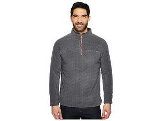 True Grit Herringbone Fleece 1/4 Zip Pullover Men's Clothing