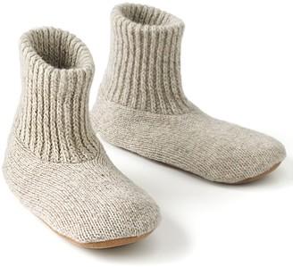 Muk Luks Men's Nordic Knit Bootie Slipper Socks