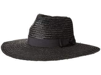 San Diego Hat Company WSH1107 Pinched Crown Wheat Straw Sun Brim