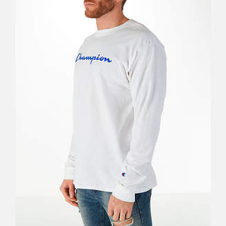 Champion Men's Classic Graphic Long-Sleeve T-Shirt