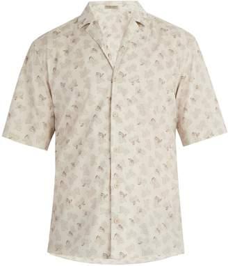 Bottega Veneta Butterfly-print cotton shirt