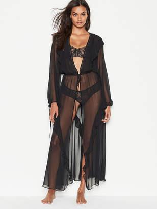 Very Sexy Plunge Ruffle Robe