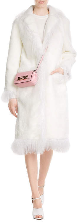 MoschinoMoschino Leather Shoulder Bag