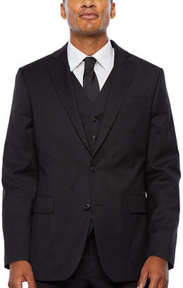 STAFFORD Stafford Super Checked Stretch Suit Jacket