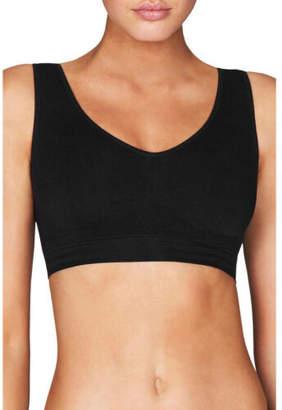 Bendon NEW Body Seamfree Crop Bra 502-7423 Black