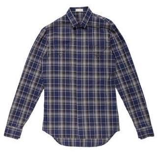 Christian Dior Plaid Woven Shirt