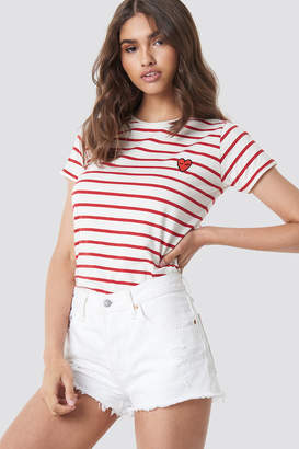 Sisters Point Herm SS Tee Creme/Red