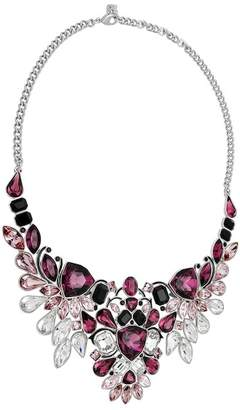 Swarovski Rhodium Plated Crystal Impulse Necklace