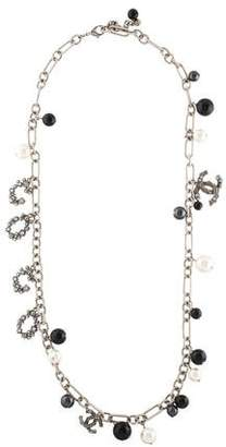 Chanel Faux Pearl 'Coco' Necklace