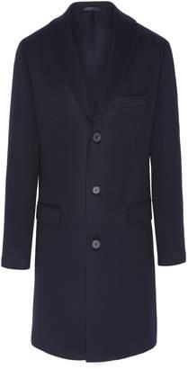 Duarte Mid-Length Navy Loro Piana Coat