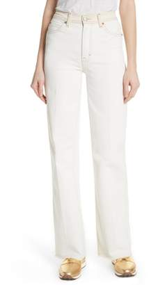 Rag & Bone Derby High Waist Wide Leg Jeans