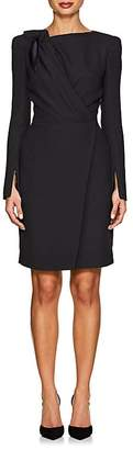 Giorgio Armani Women's Knot-Detailed Crepe Dress