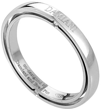 Damiani Platinum Diamond Ring