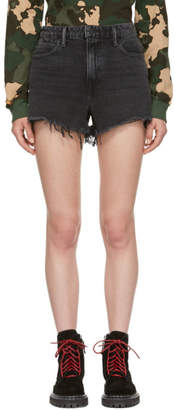 Alexander Wang Grey Bite Shorts