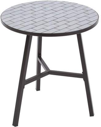 Better Homes & Gardens Better Homes and Gardens Camrose Farmhouse Mosaic Tile Top Table