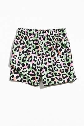 Boardies Floral Cheetah Mid-Length Swim Short