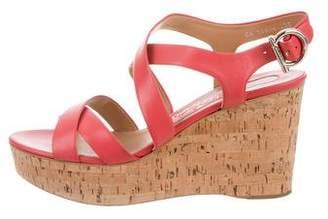 Salvatore Ferragamo Platform Wedges Sandals