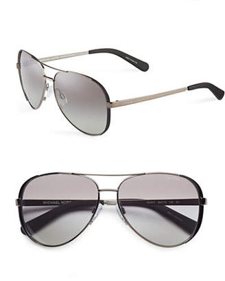 Michael Kors Chelsea 59mm Aviator Sunglasses