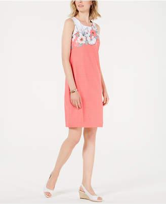 Charter Club Floral-Print Shift Dress