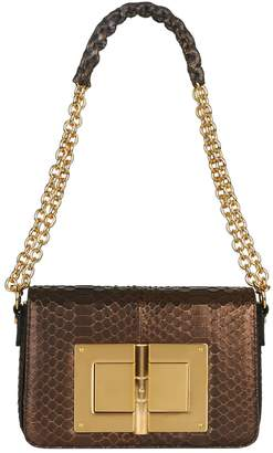 Tom Ford Large Python Natalia Shoulder Bag
