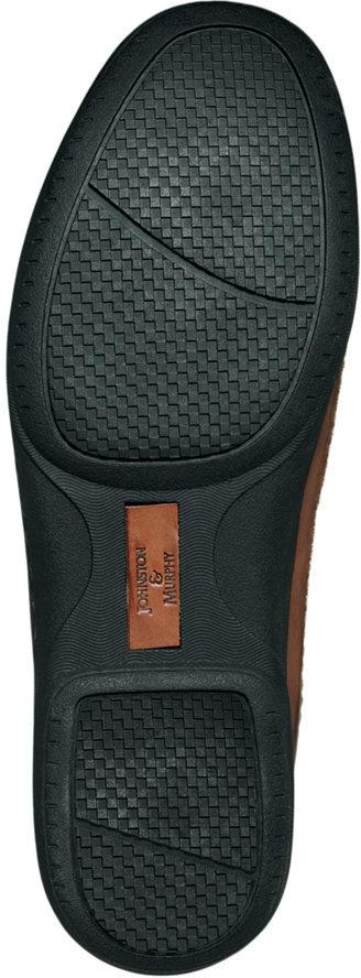 Johnston & Murphy Trevitt Woven Venetian Loafers