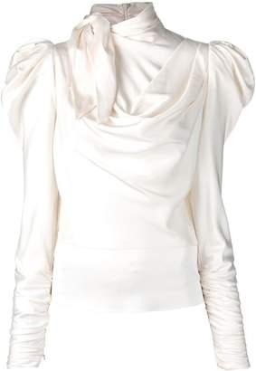 Zimmermann structured shoulder blouse