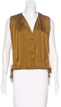 Etoile Isabel Marant Sleeveless Sash-Tie Top w/ Tags
